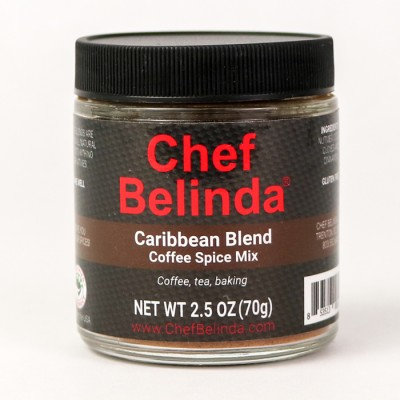 Chef Belinda Spices Caribbean Blend Coffee Spice Mix