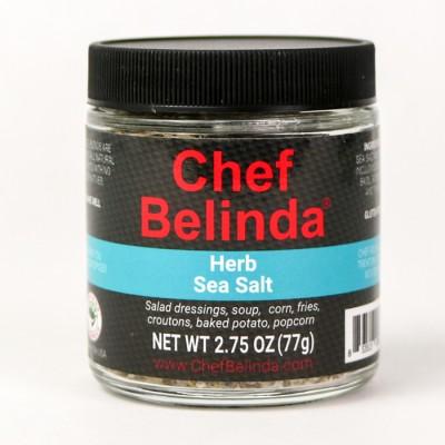 Chef Belinda Spices Herb Sea Salt