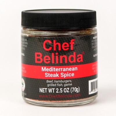 Chef Belinda Spices Mediterranean Steak Spice
