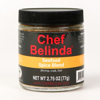 Chef Belinda Spices Seafood Spice Blend