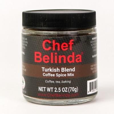 Chef Belinda Spices Turkish Blend Coffee Spice